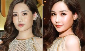Hoa hậu Đại dương khác biệt nhan sắc trong ảnh 'bị chụp' và qua chỉnh sửa