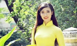 Hoa khôi Sinh viên Thu Hà: 'Chưa tự tin về nụ cười, catwalk'
