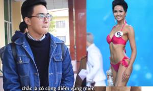 Phản ứng của các 'boy & girl' trước nhan sắc của Hoa hậu H'Hen Niê
