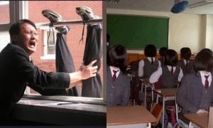 11 màn chơi khăm của học sinh Hàn khiến thầy cô 'khóc thét'