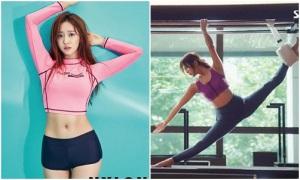 Mỹ nhân Hàn đọ vẻ sexy bằng ảnh tập pilates, yoga