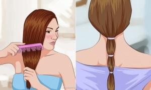 Bí kíp tóc suôn thẳng tự nhiên không cần tới salon