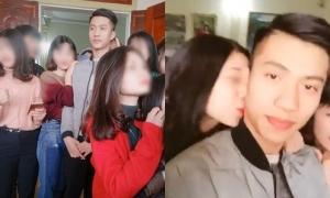 U23 Phan Văn Đức bị nhiều cô gái tìm đến nhà bao vây, hôn trộm