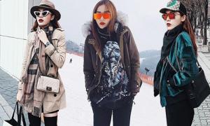 Kỳ Duyên mang cả tủ quần áo tiền tỷ cho một chuyến du lịch Hàn Quốc