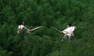 Trận chiến trong rừng trở thành đỉnh cao thẩm mỹ của 'Ngọa hổ tàng long'