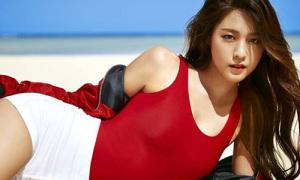 Chiêu của Seol Hyun để dáng chuẩn trông càng đẹp hơn