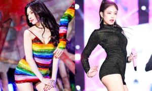 Những bộ váy ngắn cũn khiến khán giả đỏ mặt của idol nữ Kpop