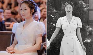 Hòa Minzy diện váy ăn theo Song Hye Kyo giá chưa đến 1/10