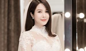 Chiếc váy 120 triệu đồng Diệp Lâm Anh sẽ mặc trong lễ cưới