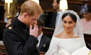 26 lần 'đưa mắt tìm nhau' của Harry và Meghan trong lễ cưới
