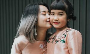 'Tiểu công chúa' nhà Mi Vân xinh xắn không kém mẹ