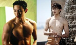 5 mỹ nam Hàn sở hữu 'bờ vai Thái Bình Dương' nhờ tập luyện