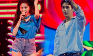Hyun Ah lộ quần bảo hộ khi diện shorts siêu ngắn 'quẩy' cùng fan Việt