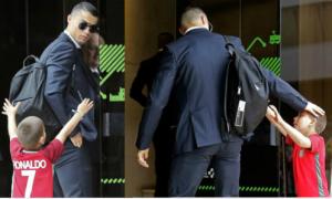 Những khoảnh khắc chứng minh Ronaldo đặc biệt quan tâm fan nhí
