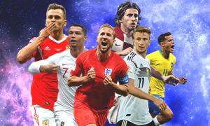 8 cầu thủ nổi bật nhất lượt đấu thứ 2 vòng bảng World Cup