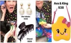 Dì của Huỳnh Lập bóc giá outfit theo phong cách 'rich kids' gây cười