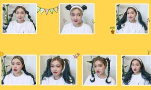 7 kiểu tóc mùa hè xinh yêu 'chuẩn gái Hàn' ai cũng làm được