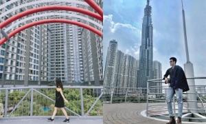 Giới trẻ Sài Gòn đua nhau 'sống ảo' ở tòa nhà cao nhất Việt Nam