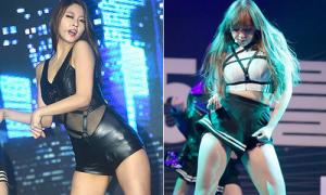 Top 5 bộ đồ diễn 'hư hỏng' của idol Kpop