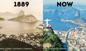 Các thành phố nổi tiếng thay đổi chóng mặt ra sao?