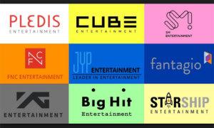 Bảng xếp hạng 10 công ty giải trí khủng nhất ở Hàn