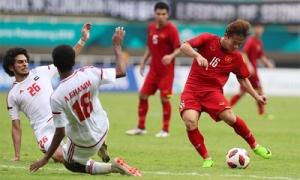 Olympic Việt Nam đánh mất HCĐ trên chấm phạt đền