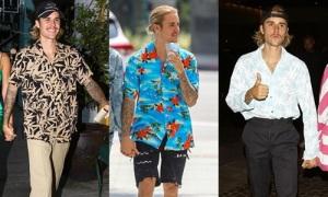 Mới đính hôn, Justin Bieber đã chuyển sang style ông chú sắp-lấy-vợ ở thập niên 90