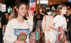Nữ thần Seol Hyun cùng các thành viên AOA rạng ngời đến Việt Nam