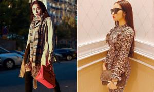 Bộ sưu tập túi hiệu của Hòa Minzy tăng vùn vụt trong một năm
