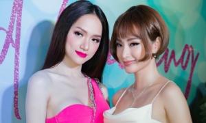 Angela Phương Trinh đổi kiểu tóc búp bê đọ sắc với Hương Giang