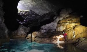 Phát hiện hang động đẹp tuyệt vời ở Trung Quốc