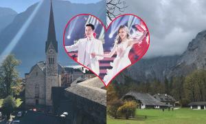 Địa điểm tổ chức hôn lễ đẹp như mơ của Đường Yên - La Tấn