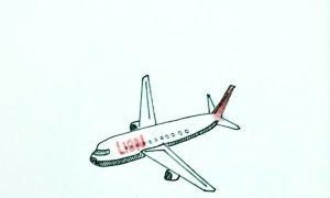 Những bức họa cầu nguyện cho nạn nhân rơi máy bay ở Indonesia