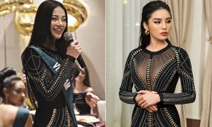 Phương Khánh 'xài lại đồ cũ' của các hoa hậu khi thi Miss Earth 2018