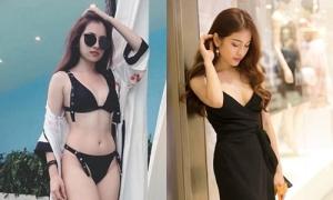 Sắc vóc quyến rũ của tình mới kém Dương Khắc Linh 13 tuổi
