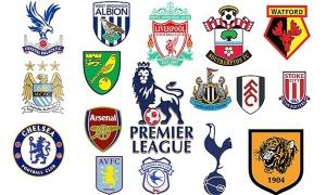 Nhận dạng các câu lạc bộ bóng đá Anh qua logo