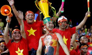 'Bóng đá Việt Nam vào chung kết' - từ khóa hot nhất trên cổng tìm kiếm thông tin Hàn