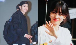 Song Joong Ki điển trai, IZONE tươi tắn đi dự MAMA Hong Kong