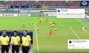 Fan bóng đá Malaysia tố bàn thắng của Anh Đức không hợp lệ