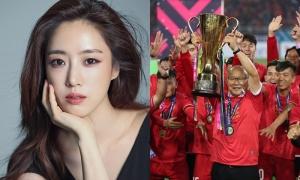 Thành viên T-ara đăng ảnh chúc mừng HLV Park và tuyển Việt Nam