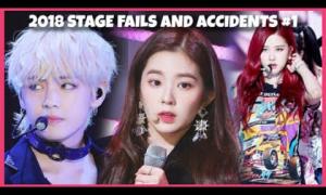 Những tai nạn sân khấu của idol Hàn trong năm 2018