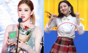5 sự cố trang phục 'khó đỡ nhất' của idol Hàn năm 2018