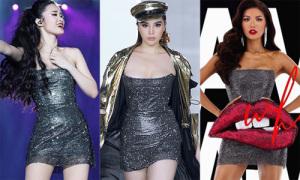 Cuộc chiến 'khốc liệt': Khi 5 mỹ nhân mặc chung một mẫu đầm