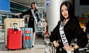 Lê Âu Ngân Anh đến Philippines dự thi Miss Intercontinental 2018