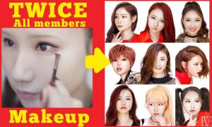 Gái xinh tự make-up biến thành 9 idol nhóm Twice