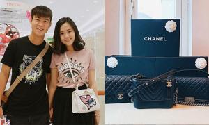 BST túi hiệu tiền tỷ đúng chuẩn 'rich kid' của bạn gái Duy Mạnh