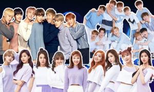Những nhóm nhạc Hàn có số lượng thành viên đông đảo