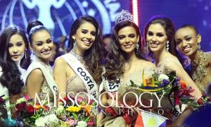 Khoảnh khắc đăng quang của Tân Hoa hậu Liên lục địa 2018
