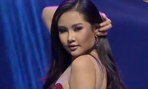 Ngân Anh ở Miss Intercontinental: trang điểm xấu dù học chuyên gia nước ngoài