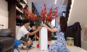 Sao Việt trang hoàng nhà cửa đón Tết Kỷ Hợi